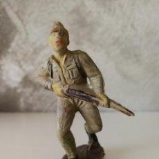 Figuras de Goma y PVC: SOLDADO JAPONÉS PECH EN GOMA AÑOS 50. Lote 114914311