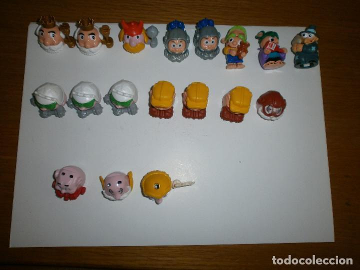 16 COCHES - CARA KINDER + 2 MONSTRUITOS FERRERO (Juguetes - Figuras de Gomas y Pvc - Kinder)