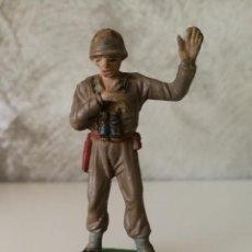 Figuras de Goma y PVC: SOLDADO AMERICANO PECH EN GOMA AÑOS 50. Lote 114986699