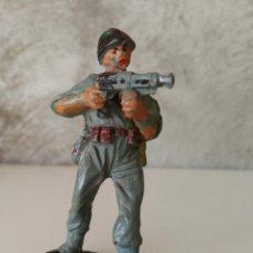 Figuras de Goma y PVC: SOLDADO AMERICANO PECH EN GOMA AÑOS 50. Lote 114989219
