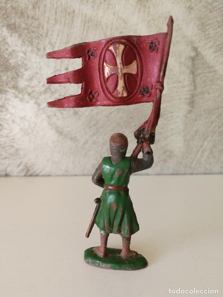 Figuras de Goma y PVC: FIGURA CRUZADO ABANDERADO REAMSA 129 EN GOMA - Foto 2 - 115008491