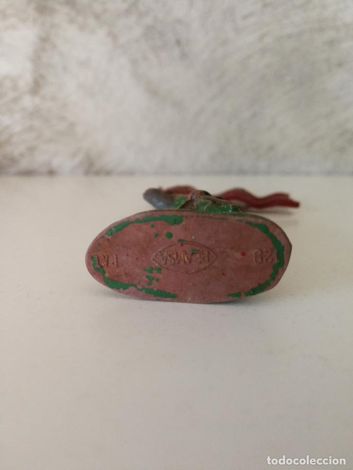 Figuras de Goma y PVC: FIGURA CRUZADO ABANDERADO REAMSA 129 EN GOMA - Foto 3 - 115008491
