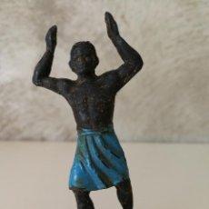 Figuras de Goma y PVC: FIGURA DE GOMA PORTEADOR AFRICANO JECSAN. Lote 115009167
