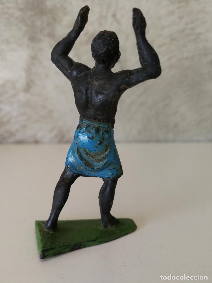 Figuras de Goma y PVC: FIGURA DE GOMA PORTEADOR AFRICANO JECSAN - Foto 2 - 115009167