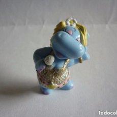 Figuras Kinder: FIGURA KINDER-HIPOPÓTAMA CANTANTE. Lote 115032267