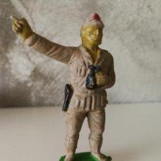 Figuras de Goma y PVC: SOLDADO JAPONÉS EN GOMA PECH AÑOS 50. Lote 115032651