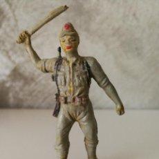 Figuras de Goma y PVC: SOLDADO JAPONÉS EN GOMA PECH AÑOS 50. Lote 115032695