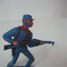 Figuras de Goma y PVC: SOLDADO YANKEE 7º DE CABALLERÍA - CON RIFLE - AÑOS 60-70. Lote 115049999