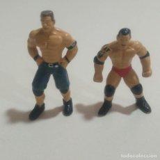 Figuras Kinder: 1€ CADA JOHN CENA BATISTA FIGURA WWE WWF KINDER ZAINI MUÑECO MINIATURA FIGURITA PREMIUM. Lote 115070371