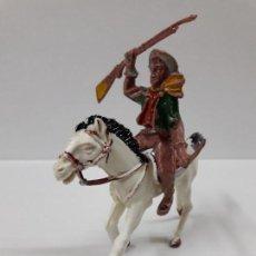 Figuras de Goma y PVC: VAQUERO - COWBOY A CABALLO . REALIZADO POR LAFREDO . AÑOS 60. Lote 115226799