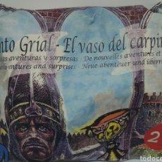 Figuras de Goma y PVC: SOBRE SORPRESA - SANTO GRIAL, EL VASO DEL CARPINTERO - Nº 27. NUEVA GENERACION. Lote 115296815