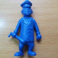 Figuras de Goma y PVC: FIGURA DUNKIN. PERSONAJE. EL POLICIA MATUTE. HANNA BARBERA. VER FOTOS Y LEER DESCRIPCIÓN.. Lote 115297515