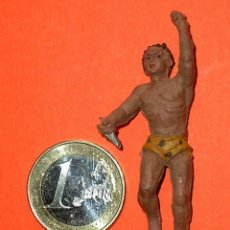 Figuras de Goma y PVC: TARZÁN DE LA SELVA JUNGLA, ÁFRICA MISTERIOSA, GOMA, LAFREDO, ORIGINAL AÑOS 50.. Lote 115304554