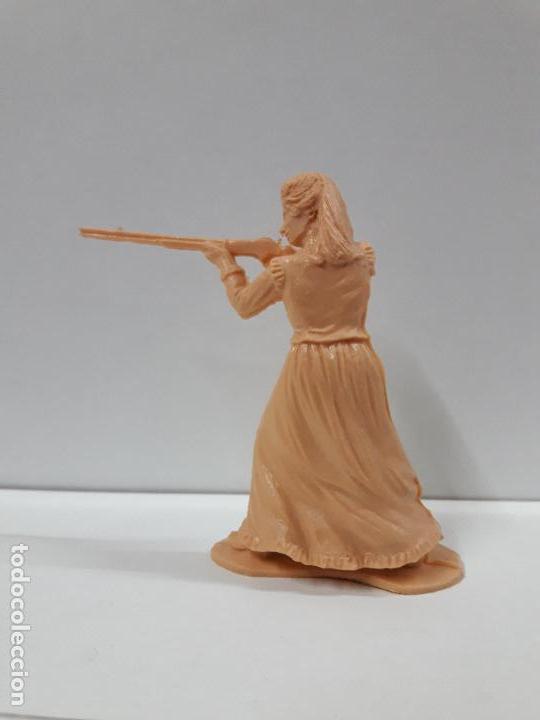 Figuras de Goma y PVC: FIGURA MOLDE REAMSA . SERIE ASALTO A LA DILIGENCIA . MONOCOLOR - Foto 2 - 115314227