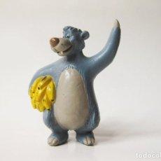 Figuras de Goma y PVC: FIGURA DE PVC DE BALOO DE EL LIBRO DE LA SELVA - COMICS SPAIN. Lote 149312642