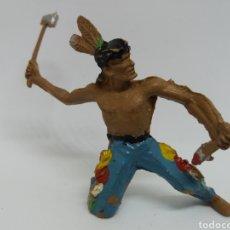 Figuras de Goma y PVC: ANTIGUA FIGURA DEL OESTE EN PLASTICO. AÑOS 70.. Lote 115341223