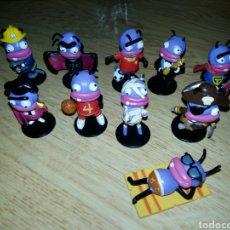 Figuras de Goma y PVC: COLECCIÓN COMPLETA FIGURAS PVC TRANCAS Y BARRANCAS MUÑECOS COLECCIÓN. Lote 115346286