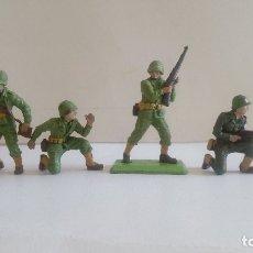 Figuras de Goma y PVC: TAMIYA Y BRITAINS LTD AÑOS 70-80 ESCALA 1/32 SOLDADOS AMERICANOS 2ª GUERRA MUNDIAL. PTOY. Lote 41436247