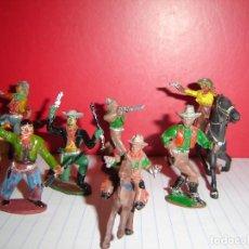 Figuras de Goma y PVC: COW-BOYS LAFREDO-GOMA. Lote 115358775