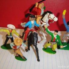 Figuras de Goma y PVC: COW-BOYS LAFREDO. Lote 115392019