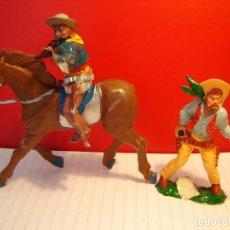 Figuras de Goma y PVC: COW-BOYS LAFREDO. Lote 115392123
