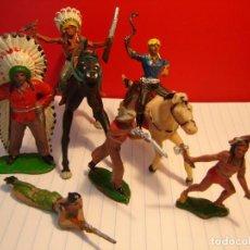 Figuras de Goma y PVC: INDIOS GOMA. Lote 115392271