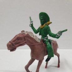Figuras de Goma y PVC: VAQUERO - COWBOY A CABALLO . REALIZADO POR LAFREDO . AÑOS 60. Lote 115394487