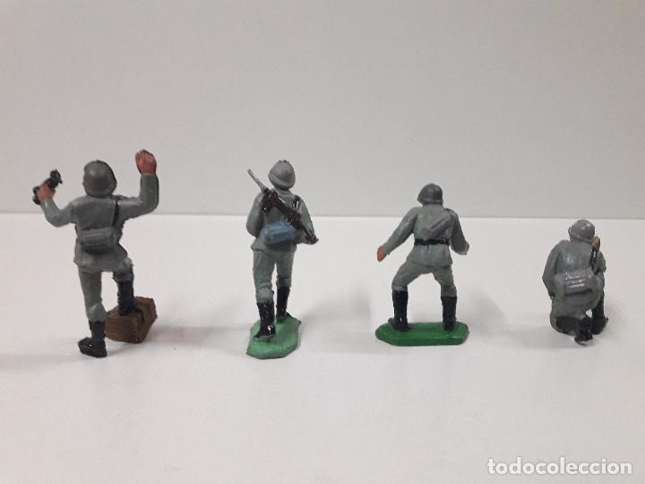 Figuras de Goma y PVC: POSICION ALEMANA DE ARTILLERIA . REALIZADA POR PECH . AÑOS 60 - Foto 4 - 115406579