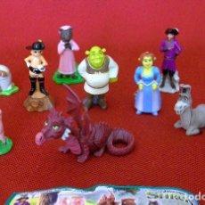 Figuras Kinder: KINDER 2007 SHREK 3. SERIE COMPLETA.. Lote 115468123