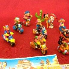 Figuras Kinder: KINDER 2003 MOTOCOYOTES.. Lote 115468815