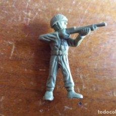 Figuras de Goma y PVC: SOLDADO AMERICANO VERDE ORIGINAL. DUNKIN. Lote 115483807