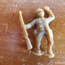 Figuras de Goma y PVC: SOLDADO AMERICANO VERDE ORIGINAL. DUNKIN. Lote 115484551