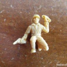 Figuras de Goma y PVC: SOLDADO JAPONÉS BEIGE ORIGINAL. DUNKIN. Lote 115485875