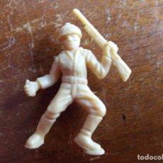 Figuras de Goma y PVC: SOLDADO JAPONÉS BEIGE ORIGINAL. DUNKIN. Lote 115487003