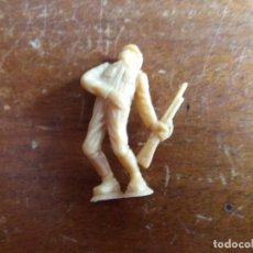 Figuras de Goma y PVC: SOLDADO JAPONÉS BEIGE ORIGINAL. DUNKIN. Lote 115488179