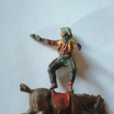Figuras de Goma y PVC: COWBOY GOMA PECH. Lote 115578827