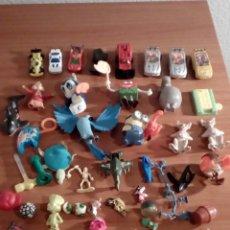 Figuras de Goma y PVC: LOTE DE 47 MUÑECOS PVC Y GOMA COCHES A ESCALA Y MAS. Lote 115632690