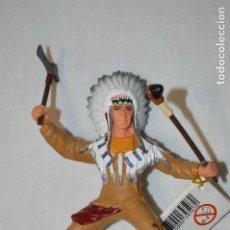 Figuras de Goma y PVC: INDIO. FIGURA PAPO. 1999. ROMANJUGUETESYMAS.. Lote 115668623