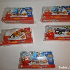 Figuras Kinder: 5 PACKS 3 HUEVOS KINDER FIGURAS COMPLETAS MODELOS TEST. Lote 115828587
