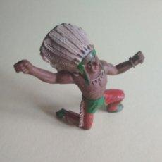 Figuras de Goma y PVC: INDIO GOMA SOTORRES. Lote 115863507