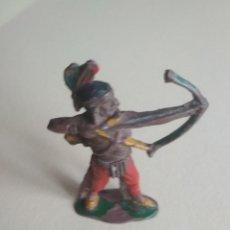 Figuras de Goma y PVC: FIGURA INDIO LAFREDO GOMA. Lote 115864679