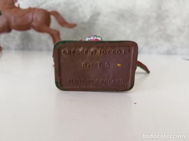 Figuras de Goma y PVC: LOTE INDIOS Y VAQUEROS EN GOMA PECH JECSAN - Foto 8 - 116093427