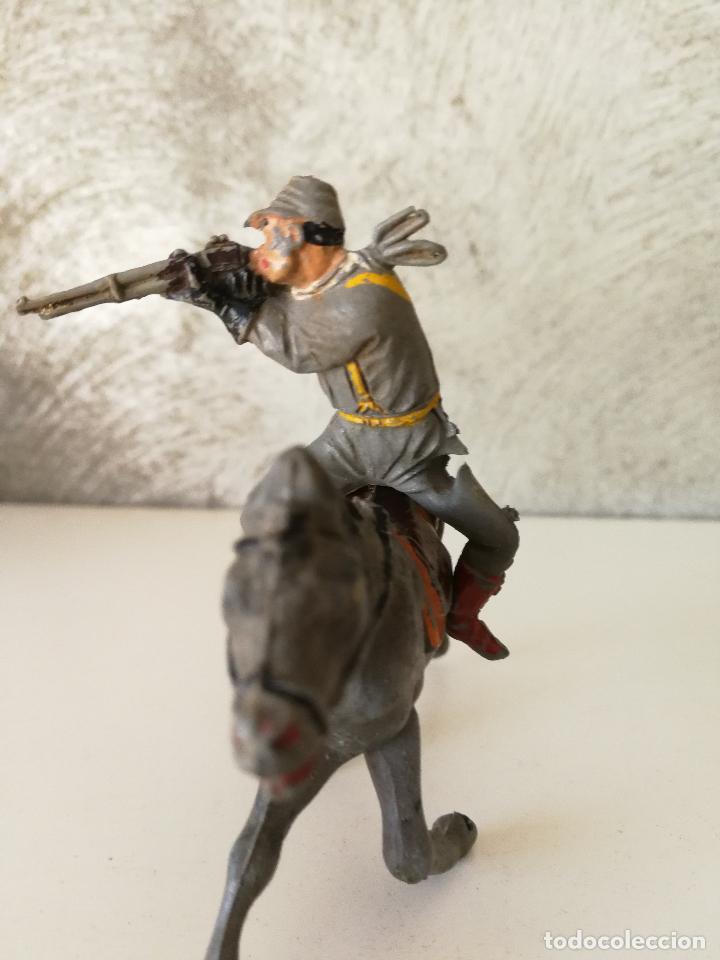 Figuras de Goma y PVC: LOTE INDIOS Y VAQUEROS EN GOMA PECH JECSAN - Foto 18 - 116093427