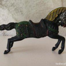 Figuras de Goma y PVC: CABALLO TORNEO MEDIEVAL EN GOMA PECH REAMSA. Lote 116094875