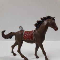 Figuras de Goma y PVC: CABALLO INDIO . REALIZADO POR COMANSI . AÑOS 70. Lote 116108087