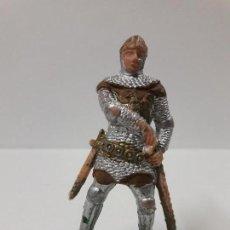 Figuras de Goma y PVC: GUERRERO MEDIEVAL . FIGURA REAMSA Nº 186 . SERIE RICARDO CORAZON DE LEON . AÑOS 60. Lote 116118975