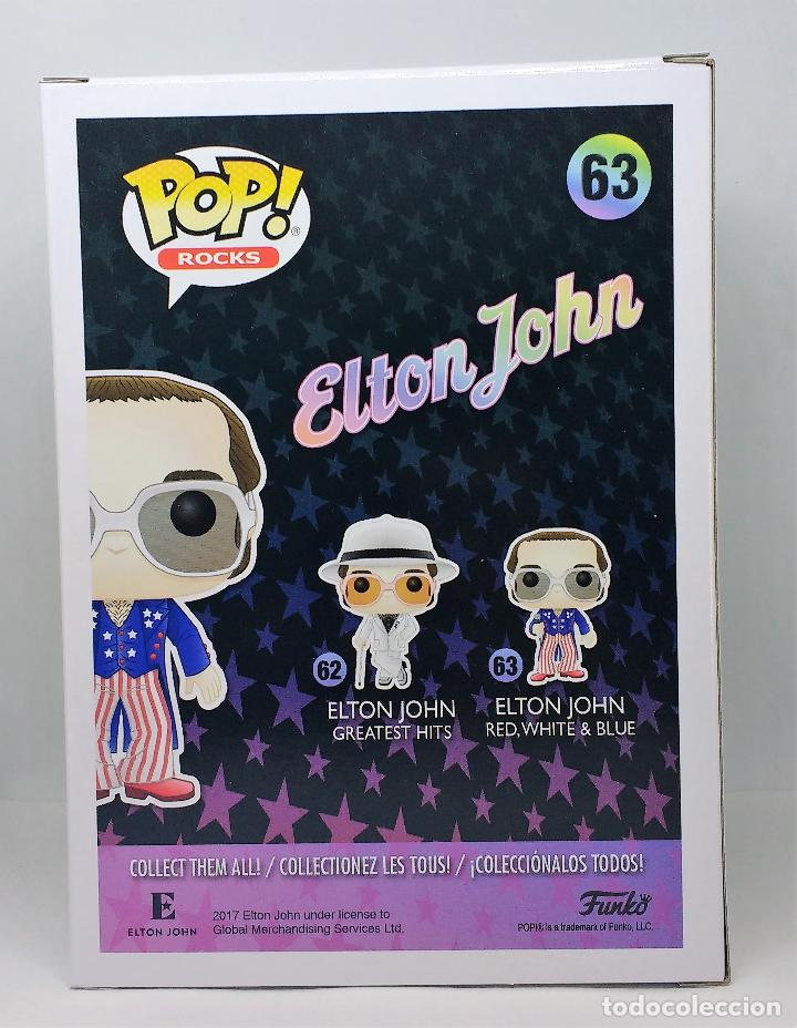 Figuras de Goma y PVC: FUNKO Figura POP Elton John Red White Blue 63 - Foto 3 - 116119711