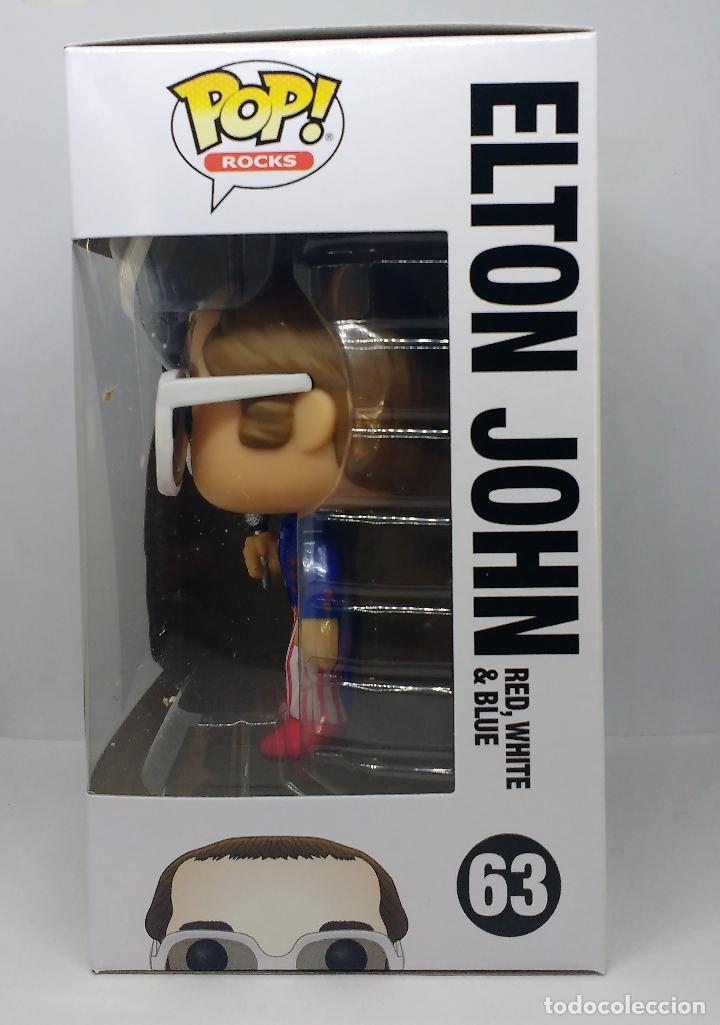 Figuras de Goma y PVC: FUNKO Figura POP Elton John Red White Blue 63 - Foto 4 - 116119711