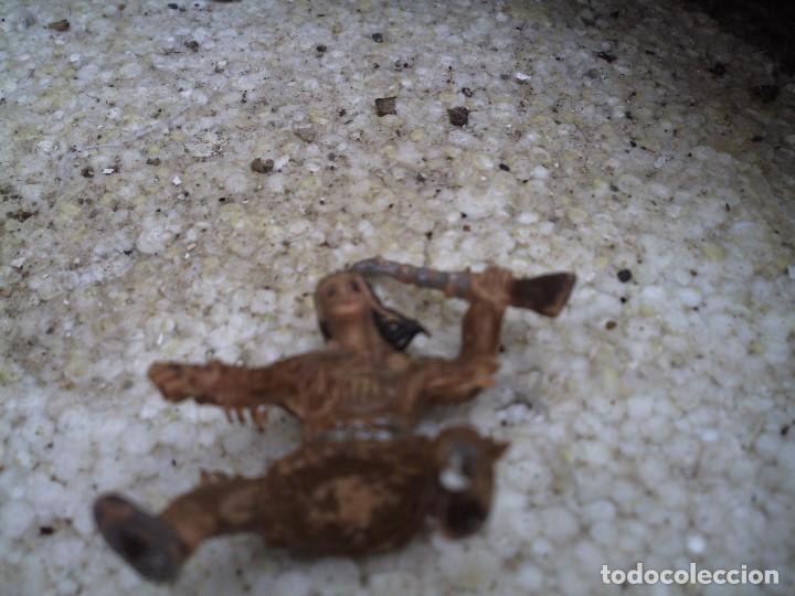 Figuras de Goma y PVC: apache de estereoplast - Foto 2 - 116120063