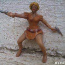 Figuras de Goma y PVC: FIGURA DE APACHE DE ESTEREOPLAST. Lote 116120399